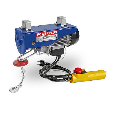 Mistral Hoist Electric 200-400KG Cable Two 9-18MT Lifter Workshop 950W
