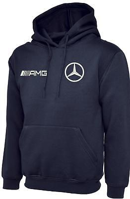 Embroidered Mercedes And Amg Logo Fleece Jacket, Workwear Uniform Embroidere Top