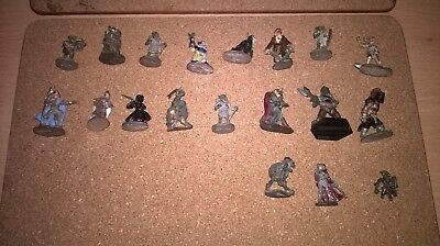 Ral Partha pre slotta minuatures Adventures and enemys OOP 1970's