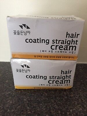 Hair Coating Straight Cream Magic Self Straightener Uni Korean Product