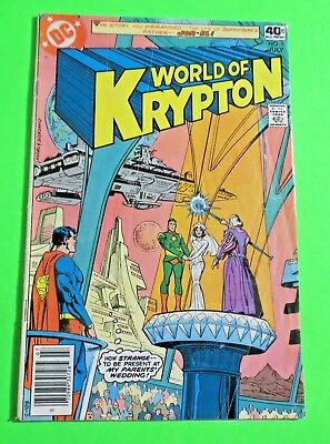 World of Krypton #1  DC Comics Bronze Age (1979) C2094