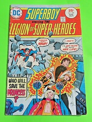 Superboy & Legion of Super-heroes #209DC Comics bronze Age (1975) C2084