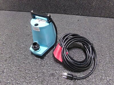 LITTLE GIANT 5MSP-18, 1/6 HP Utility Pump with 120VAC Voltage and Discharge (TJ)