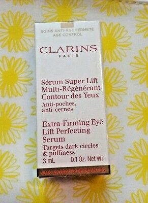 Clarins Extra-Firming Eye Lift Perfecting Serum 3ml Dark circle Puffiness