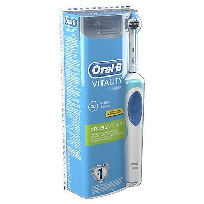 Oral-B Braun pro vitality 2d cross action +2minute timer rechargeable