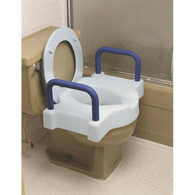 Ableware 725891000 Extra Wide Tall-Ette Toilet Seat