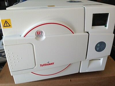 Tuttnauer EZ11 PLUS (NEW) with 2 Year Factory Warranty