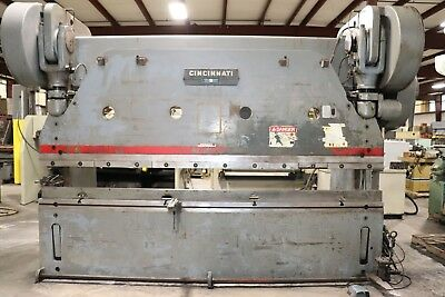 Cincinnati Series 9 225 Ton x 12' Mechanical Press Brake, Air Clutch