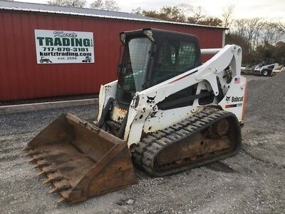 2013 Bobcat T650 Tracked Skid Steer Loader w/ Cab