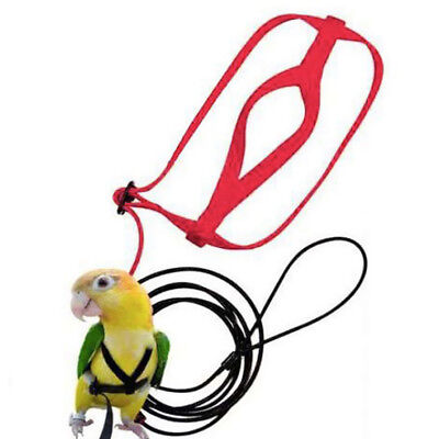 Parrot Adjustable Bird Harness and Leash Outdoor Flying Anti-bite for Bird