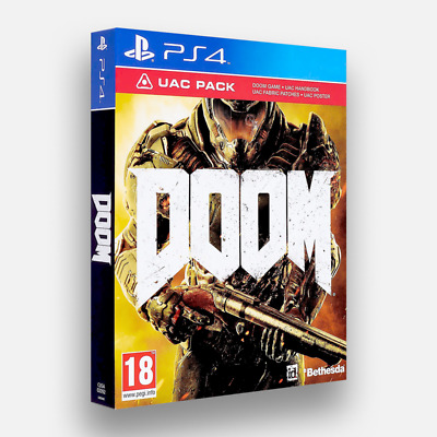 DOOM UAC PACK PS4 PAL - Brand New Sealed (FREE UK 1st Class)