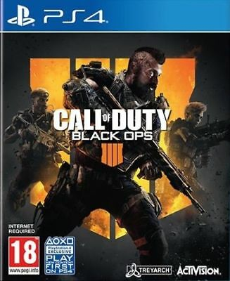 Call of Duty: Black Ops 4 (PS4) New & Sealed - Black Friday Deal Price