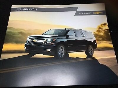 2019 CHEVY SUBURBAN 28-page Original Sales Brochure