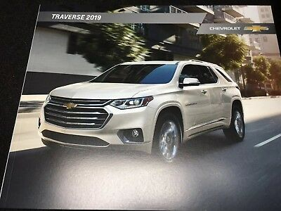 2019 CHEVY TRAVERSE 38-page Original Sales Brochure