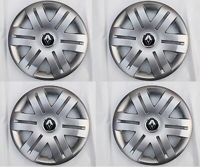 """16"""" Wheel Trims To Fit Renault Master Set Of 4 Hub Caps Brand New"""