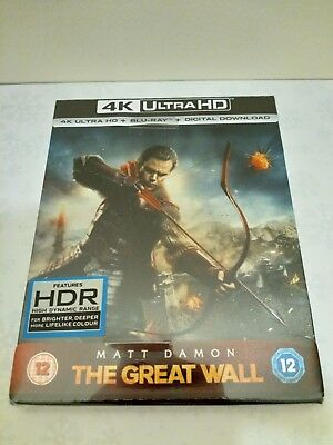 The Great Wall 4K Ultra HD+Blu-ray+Digital Limited Edition Steelbook *Sold Out*