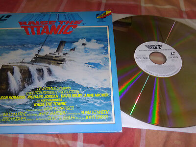 Raise the Titanic Laser Disc - ***SEE NOTES***
