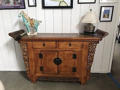 Circa 1870 Century Ching (Qing)) Dynaster Altar Cabinet. MAKE AN OFFER
