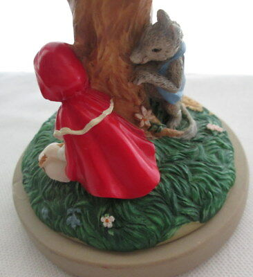 Brown Bag Fairy Tale Little Red Riding Hood Cookie Stamp Art vtg