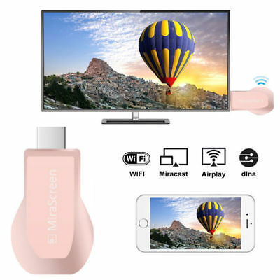 MiraScreen Miracast 1080P WiFi Display HDMI TV Media Dongle Wireless Receiver US