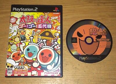 Taiko No Tatsujin 5 Playstation 2 Game Fun PS2 Japan Import Video Games