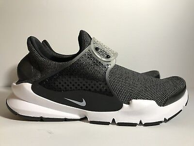 competitive price 33c61 5c6c4 NIKE MENS SOCK Dart GPX N7 Size 10 Sneakers White Black ...