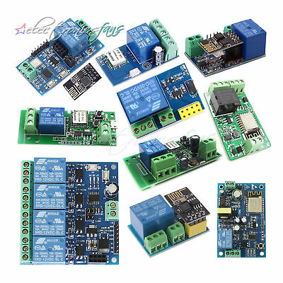 ESP8266 DC 5/12/32/220V WiFi Wireless Relay Module Smart Home Automation