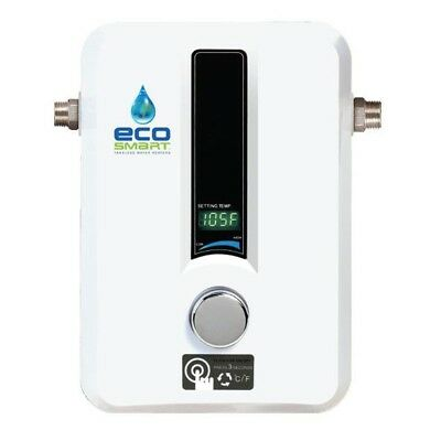 EcoSmart Electric Tankless House Shower Water Heater Boiler Instant 2 GPM New