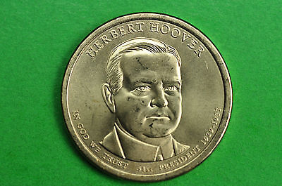 2014-P BU Mint State (Herbert Hoover) US Presidential One Dollar