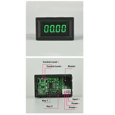 Battery 12V 24V 0-100V Over Under Voltage Protection Alarm With Buzzer TTL Level