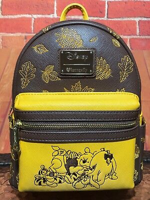 fea8f454d1e LOUNGEFLY DISNEY WINNIE The Pooh Mini Backpack Bag NWT -  84.15 ...