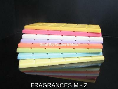 High Quality Fragrance 100% Natural Soy Wax Melt Block 100+ fragrances     M - Z