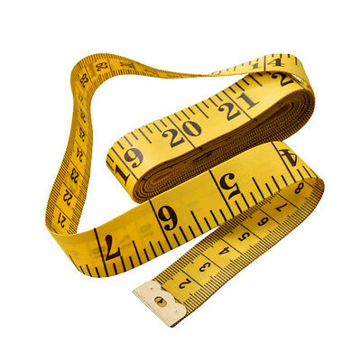 """New 3M 120"""" Flat Tape Measure for Tailor Sewing Cloth Soft Body Measuring Ruler"""