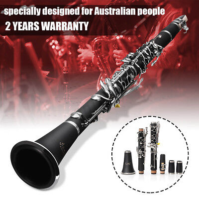 LADE Retro Clarinet Musical Instrument Orchestra Beginners Student With Case AU