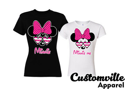 b2ae32a743a6c 🔥 MINNIE MOM and me Mommy Daughter Matching T shirts family ...