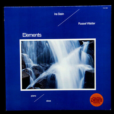 "Ira Stein / Russel Walder ---  "" Elements ""  -  Near Mint   -  1982"