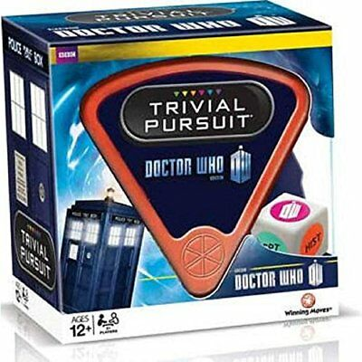 Dr Who 50th Anniversary Trivial Pursuit 12+