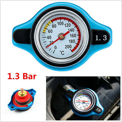 Porfessional Car Small Head Thermost Radiator Cap Cover&Water Temp Gauge Meter