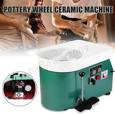 250W 110V Electric Pottery Wheel Machine Ceramic Work Clay Craft & Accessories