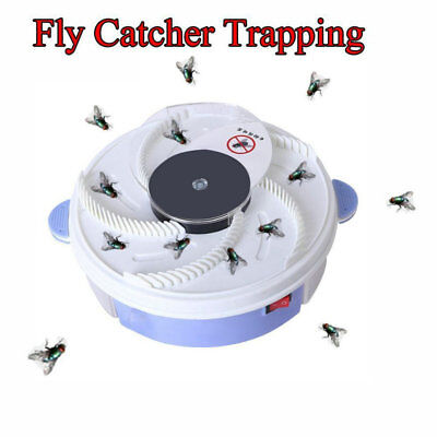Electric USB Automatic Flycatcher Fly Trap Mosquito Reject Control Catcher 2018