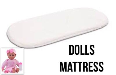 DOLLS TOY PRAM MATTRESS Pad Silver  Cross Ranger Carrycot