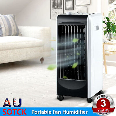 Devanti Evaporative Air Cooler and Portable Fan Humidifier Conditioner