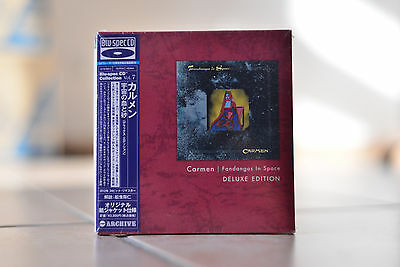 Carmen Fandangos in Space japanese Deluxe Edition Blu-Spec CD AIRAC-1684 NEW OOP