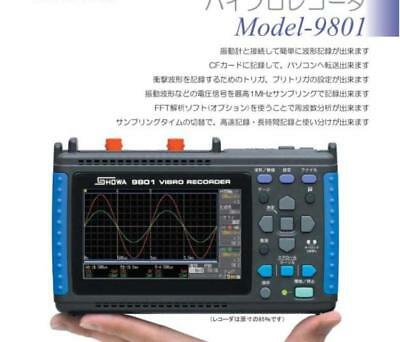 NEW SHOWA Model-9801 VIBRO RECORDER #ship by DHL EMS
