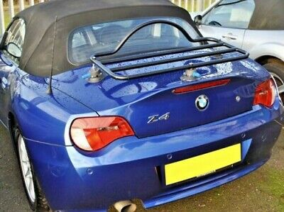 BMW Z4 E85 (2003-09) Trunk Boot Luggage Rack ; No Clamps No Damage