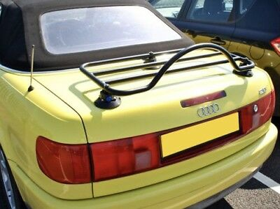Audi Cabriolet Trunk Boot Luggage Rack ; No Clamps = No Damage