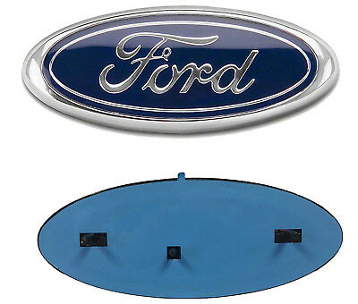 Fit for FORD F-250 F-150 9 INCH BLUE OVAL FRONT GRILLE OR REAR TAILGATE EMBLEM