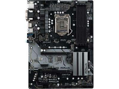 ASRock Z390 Pro4 LGA 1151 (300 Series) Intel Z390 HDMI SATA 6Gb/s USB 3.1 ATX In