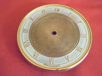 VINTAGE CLOCK..NUMBERS DIAL ROMAN NUMERALS..FOR GERMAN CLOCK..10.5cm DIAMETER