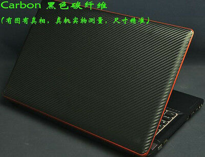 KH Laptop Carbon Leather Brushed Sticker Skin Cover for Lenovo AIR13 PRO Series